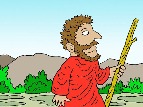 After three years without rain, the Lord told Elijah, 'Go and meet King Ahab. I will soon send rain.' – Slide 2