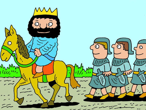 The King of Israel knew that God was letting Elisha hear the enemy plans and avoided all the ambushes being planned. The King of Syria would plan another surprise attack … – Slide 6
