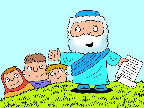 Elisha was a prophet of the One True God and did many wonderful miracles by the power of God. – Slide 1