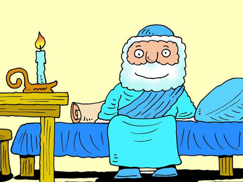So that is what the couple did for Elisha. An extra room was built and furnished. Every time Elisha passed by on his travels he could relax in his own room and sleep for the night. – Slide 6