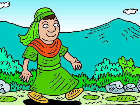 Elisha had just taken over from Elijah as a prophet of God. He was at the city of Jericho. – Slide 1