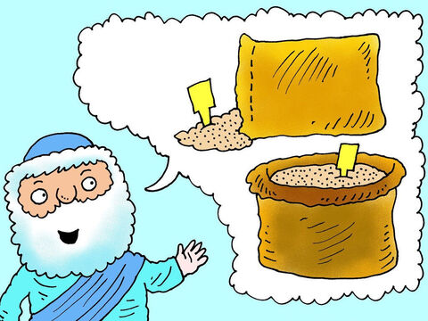 However the prophet Elisha had predicted that within 24 hours there would be plenty of food, so much that it would be cheap. How could that be possible? – Slide 2