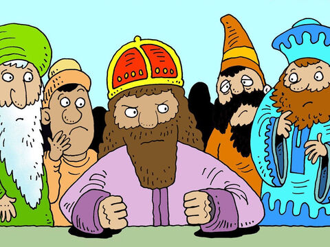 'What should I do with my wife who refused to obey me?' he fumed to his wise men. – Slide 5
