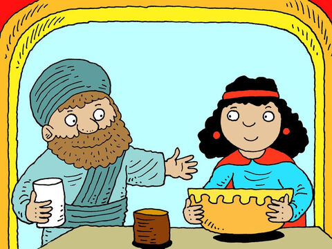 Mordecai was the uncle of a beautiful young woman called Esther. He was her guardian and looked after her. – Slide 10
