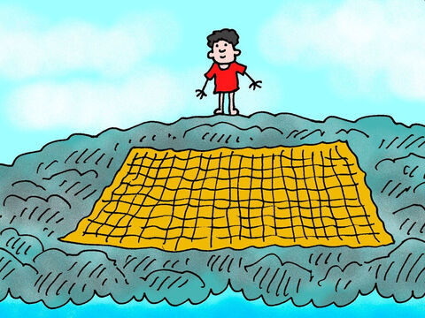 'I will make you a bare rock, and you will become a place to spread fishing nets. – Slide 5
