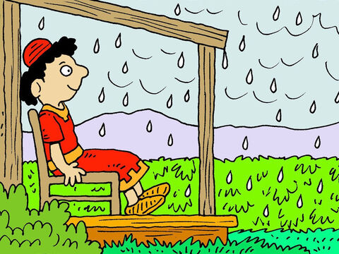 He must wait for the early rains that will water the plants and help the grapes grow. – Slide 4
