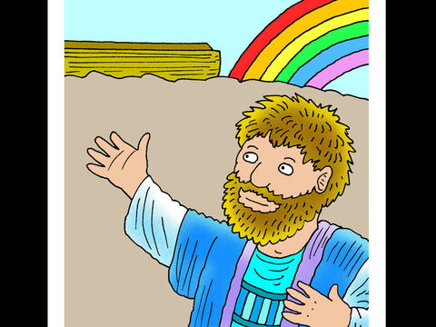 Noah <br/>Noah trusted God and built an ark while others mocked him. God kept His promise and Noah and his family were saved from the flood. – Slide 1