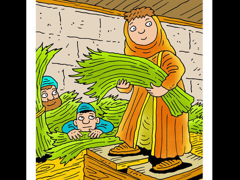 Rahab <br/>Rehab protected two Hebrew spies and trusted God to deliver her when Jericho was under attack. – Slide 1