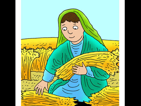Ruth <br/>Ruth was a Moabite who decided to trust in God and care for her mother-in-law, Naomi. – Slide 2