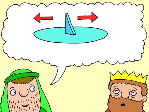 'Yes,' said Isaiah. 'God will make the shadow on your sundial move ten degrees Which direction would you like the shadow to move – forwards or backwards?' – Slide 12