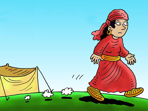 Rebekah was listening as Isaac said this to Esau and went to warn Jacob. – Slide 4
