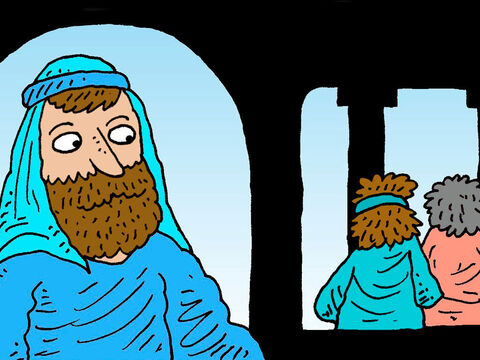 One day Jesus went to the pool of Bethesda. – Slide 6