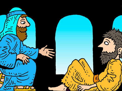 When Jesus saw the lame man lying there and learned that he had been disabled for a long time, He asked him, 'Do you want to get well?' – Slide 7