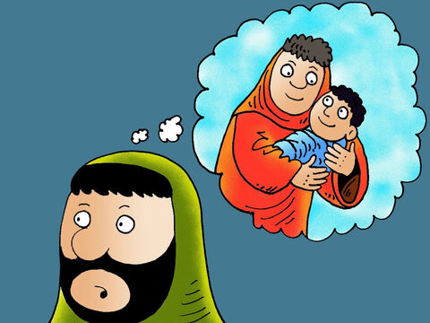 Nicodemus misunderstood what Jesus meant. He thought Jesus was saying a person had to go back to his mother's womb and be born a second. – Slide 4