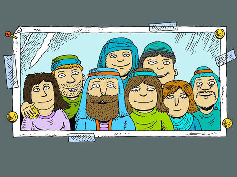 Noah was a good man. He was the most innocent man of his time and obeyed God. Noah and his wife had three sons - Shem, Ham and Japheth who were all married. – Slide 1