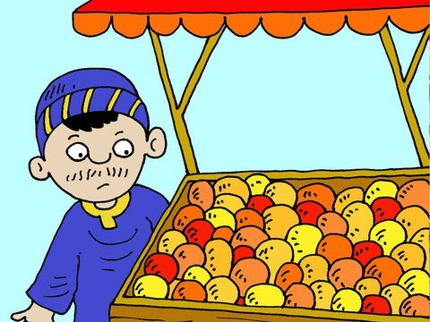 When the judge went to buy fruit at the market … – Slide 15