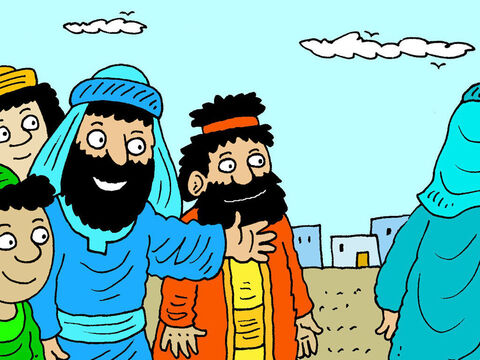 Jesus warned his disciples not to have the same judgmental attitude as the Pharisees. – Slide 2