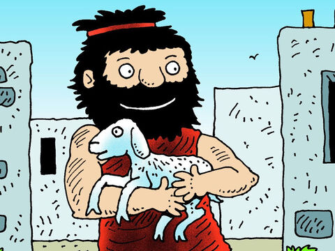 Some time later Samson went to visit his wife during the wheat harvest and took her a young goat. He told her father, 'I want to go to my wife's room.' – Slide 1