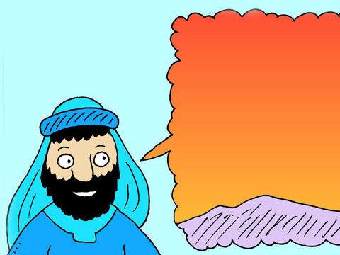Then Jesus asked, 'And if the sky is coloured red in the morning what weather do you expect? – Slide 4