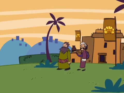 Abraham was from city called Ur and staying at a place called Haran. – Slide 1