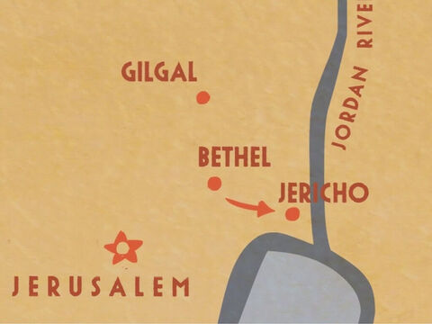 And he went with Elijah to Jericho. – Slide 9