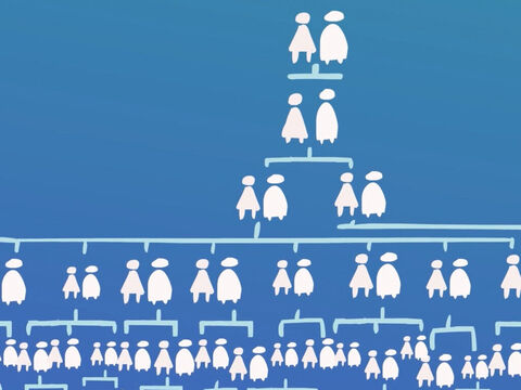Her husband Abraham was almost dead but he became the ancestor of many people. – Slide 11