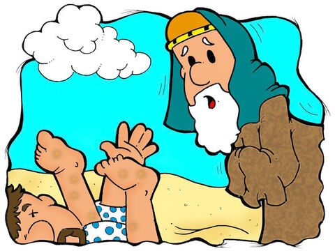'The priest saw the injured man.' What should he do? – Slide 8