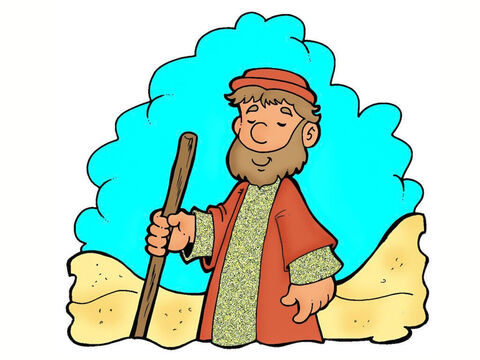 'Next, a Levite came along the road. He went over and looked at the injured man.' What should he do? – Slide 10