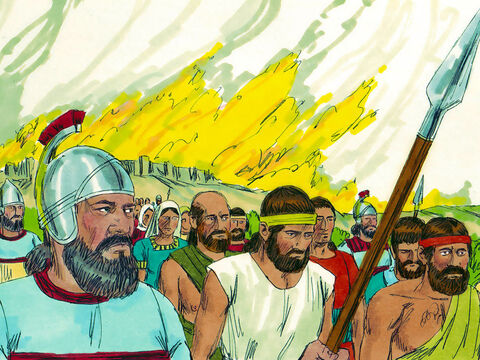 Most of those who survived the battle were captured and taken into captivity in Babylon. Jerusalem was left in ruins. God spoke through the prophet Jeremiah to let the Jews know they would remain as captives for 70 years before they would be able to return. – Slide 2