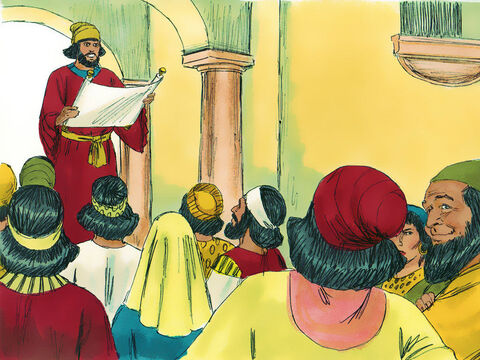 When the announcement was read the heads of many families, the Priests and Levites, prepared to return to Jerusalem and the surrounding region of Judea to rebuild the Temple and live back in the land God had given them – Slide 6