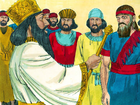 King Darius ordered that a search be made of the records to see what King Cyrus had decreed. – Slide 7