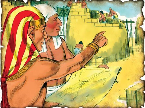 """Joseph Become Second to Pharaoh in Egypt! 1886 B.C. Genesis 41: Joseph becomes second in the land of Egypt to Pharaoh and helps rule the land during a time of seven years of great famine. """"And Pharaoh said to Joseph, """"See, I have set you over all the land of Egypt!"""" – Slide 10"""