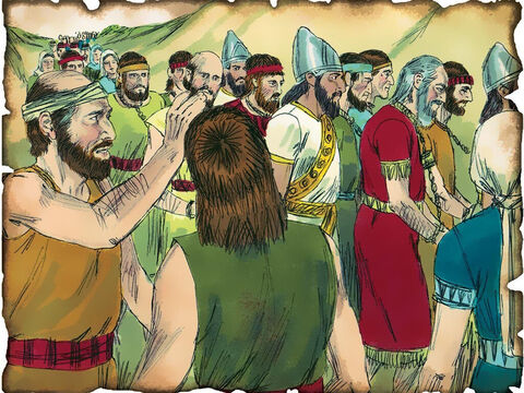 10 Northern Tribes are Carried into Captivity by Assyria – 722 B.C. II Kings 15: Despite warnings from God's prophets, the nation of Israel continues to sin against God and God sends the northern 10 tribes into captivity into Assyria. – Slide 24