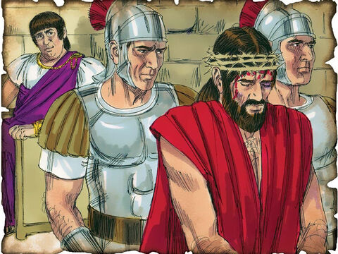 "Isaiah's Prophecy about Jesus! 711 B.C. Isaiah 53: Isaiah makes a prophecy about the suffering Messiah that God would send to deliver and redeem His people by freeing them from the penalty of sin. ""He was wounded for our transgressions, He was bruised for our iniquities; The chastisement for our peace was upon Him, and by His stripes we are healed."" – Slide 26"