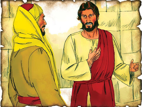 """Jesus Tells Nicodemus of God's Plan of Redemption: Look, Believe & Live! 28 A.D. John 3: Jesus tells Nicodemus; """"For God so loved the world that He gave His only begotten Son, that whoever believes in Him should not perish but have everlasting life."""" – Slide 38"""