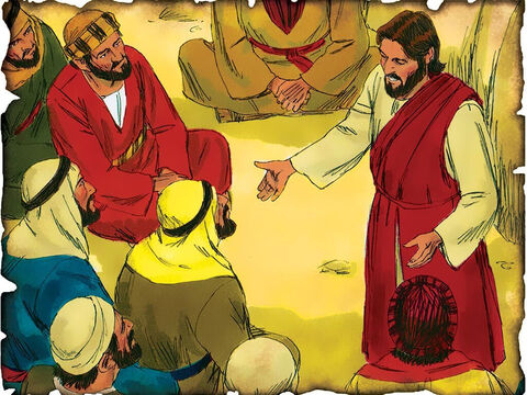 """Jesus Teaches About God's Love for the Lost Through Parables! 29 A.D. Luke 15: Jesus teaches through parables about a lost coin and son about God's great love and desire to redeem mankind back into a relationship with God. """"Rejoice with me, for I have found the piece which I lost!"""" """"Likewise, I say to you, there is joy in the presence of the angels of God over one sinner who repents."""" – Slide 39"""