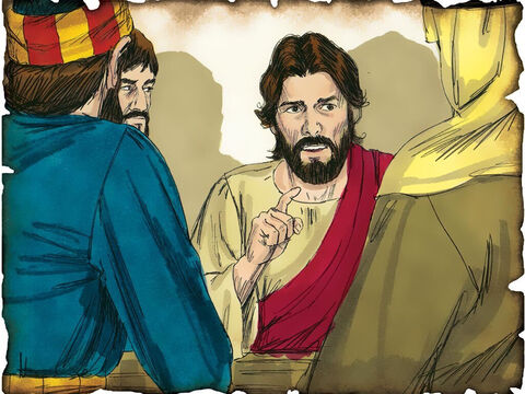 "Jesus Prays for Us and for Those That Will Believe! 30 A.D. John 17: Before Jesus goes to the cross to die for the sins of mankind he prays for all those who will believe in the name of Jesus. He prays that God would strengthen them against sin and the attacks of the devil. ""I do not pray that You should take them out of the world, but that You should keep them from the evil one."" – Slide 43"