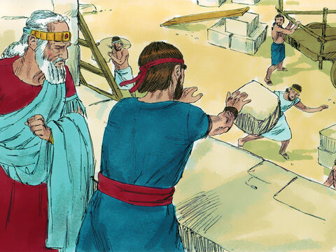 Solomon saw Jeroboam as a threat and tried to assassinate him. But Jeroboam escaped and fled to Egypt where King Shishak protected him. – Slide 11