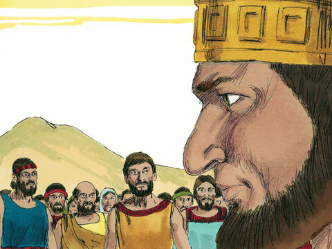 The ten tribes summoned Jeroboam and made him their king. – Slide 20
