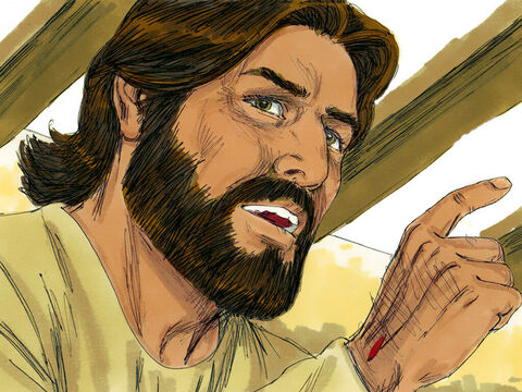 Then Jesus started explaining from the scriptures that it was always God's plan the Messiah must suffer and rise from the dead on the third day. – Slide 6