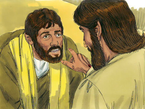 Then Jesus told Thomas,'You have believed because you have seen me. How happy are those who believe but have not seen me.' – Slide 12