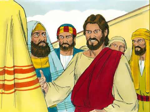 Jesus told the Pharisees that you cannot serve God and money. They sneered at Him because they loved money. Jesus then told a parable. – Slide 1