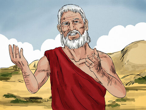 """Abraham replied, """"Son, remember that in your lifetime you received your good things, while Lazarus received bad things,but now he is comforted here and you are in agony. Between us and you is a great chasm that no-one can cross."""" – Slide 7"""