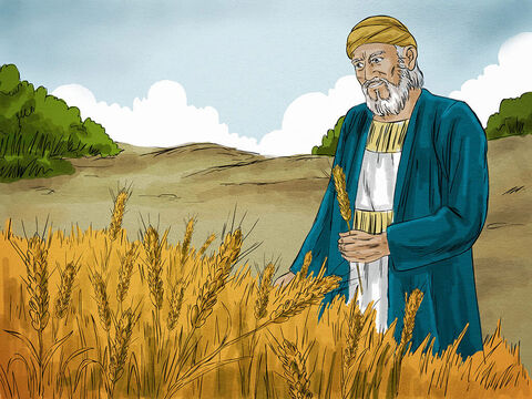 Jesus then gave an illustration: 'A rich man had a fertile farm that produced fine crops. His barns were full to overflowing—he couldn't get everything in.  – Slide 3