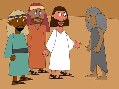 Jesus asked, 'Didn't I heal ten men? Where are the other nine? This man is not a Jew but a stranger, a Samaritan. Is he the only one to give praise to God?' – Slide 5