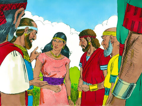 The rulers of the Philistines went to Delilah and said, 'Entice Samson to tell you what makes him so strong and how he can be overpowered. Then each of us will give you 1,100 piecesof silver.' – Slide 3