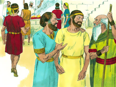At the sacrifice, Samuel saw Jesse's son Eliab and thought, 'This man standing must be one God has chosen.' But the Lord said to him, 'Pay no attention to how tall and handsome he is. I have rejected him, because I do not judge as people judge. They look at the outward appearance, but I look at the heart.' – Slide 5