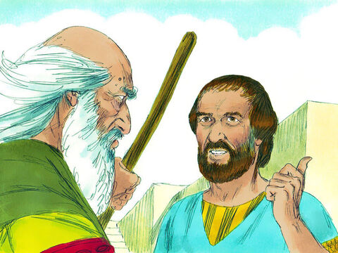 The prophet Samuel asked Jesse, 'Do you have any more sons?' – Slide 9