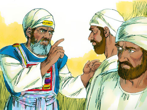 Eli warned them, 'I have been hearing bad reports about the wicked things you are doing. You must stop, my sons! If someone sins against another person, Godcan mediate for the guilty party. But if someone sins against the Lord, who can intercede?' But Eli's sons wouldn't listen to their father. – Slide 6