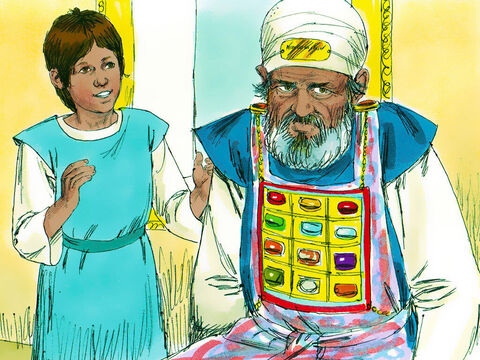 Eli called Samuel and insisted he tell him everything God had said. So Samuel told Eli everything.'It is the Lord'swill,' Eli replied. 'Let Him do what He thinks best.' – Slide 16